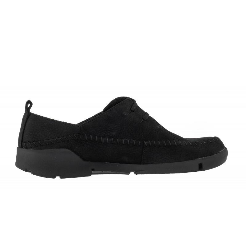 Дамски спортно-ежедневни обувки Clarks Tri Angel естествена черни