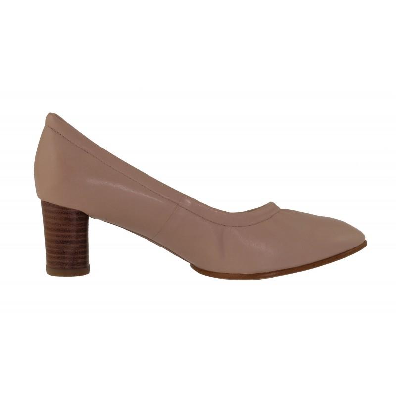 Нова колекция пролет-лято дамски обувки на ток Clarks натурална кожа