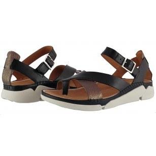 Дамски анатомични сандали Clarks Tri Ariana естествена кожа Trigenic