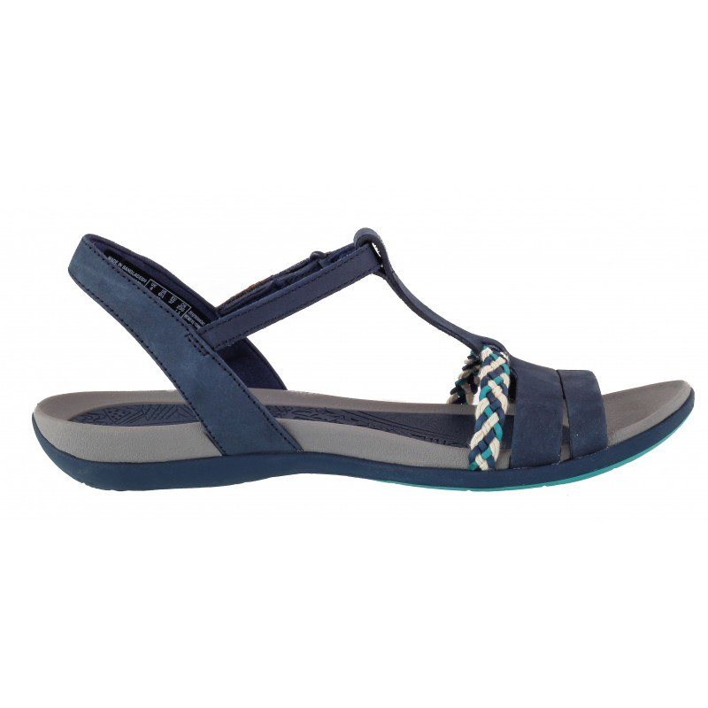Дамски анатомични сандали Clarks Tealite Grace тъмно сини