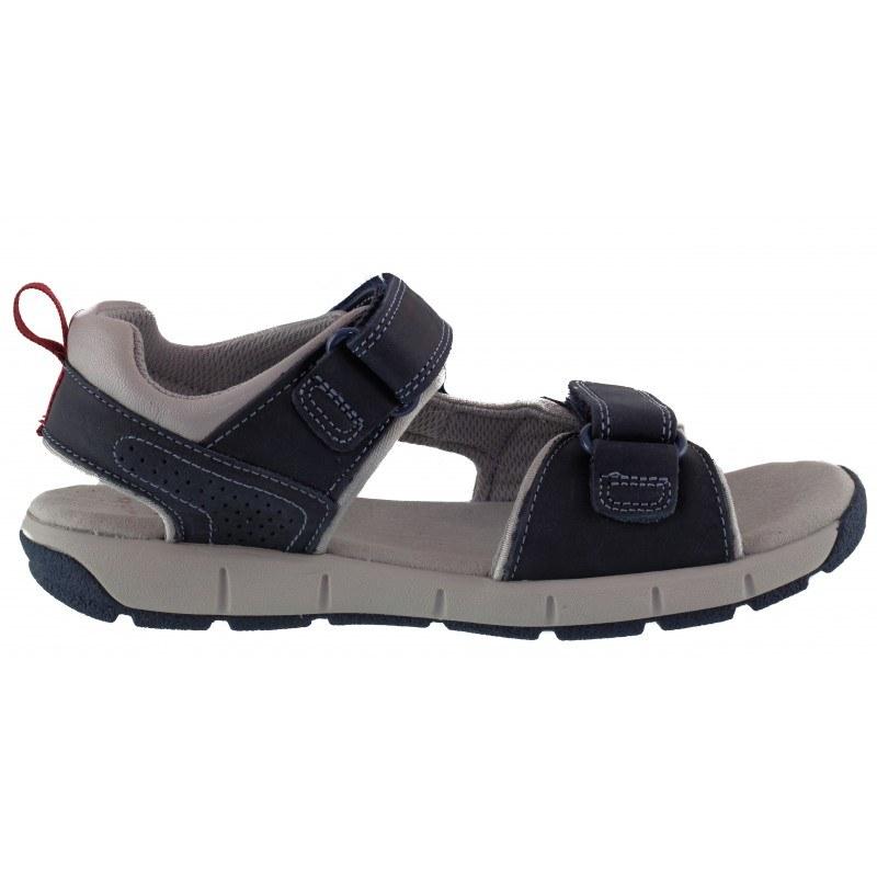 Детски ортопедични сандали за момче Clarks JollyCrazy Jnr сини
