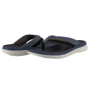 Мъжки анатомични чехли Clarks Balta Sun сини