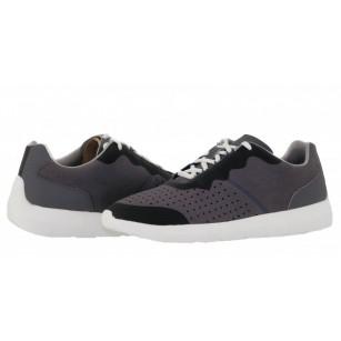 Мъжки спортни обувки с връзки сиви Clarks Torset Vibe
