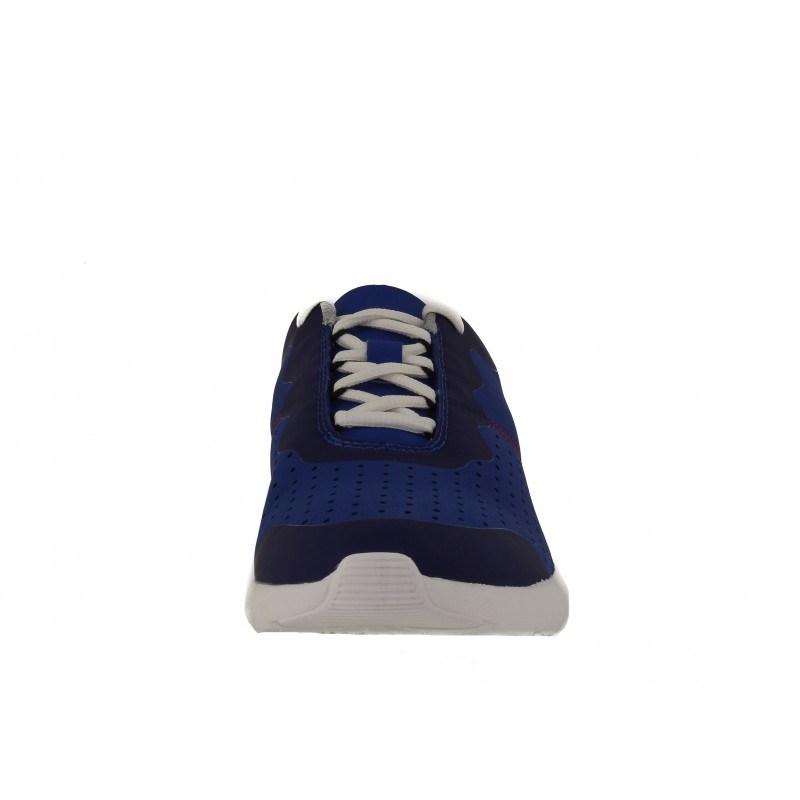 Мъжки спортни обувки с връзки сини Clarks Torset Vibe