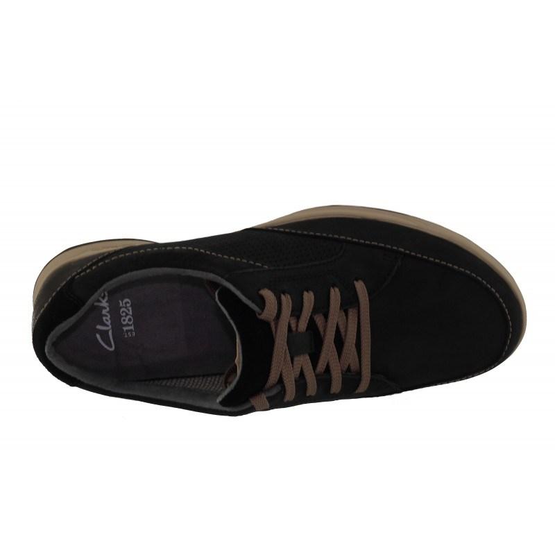Нова колекция мъжки обувки Clarks Stafford Park черни естествена кожа
