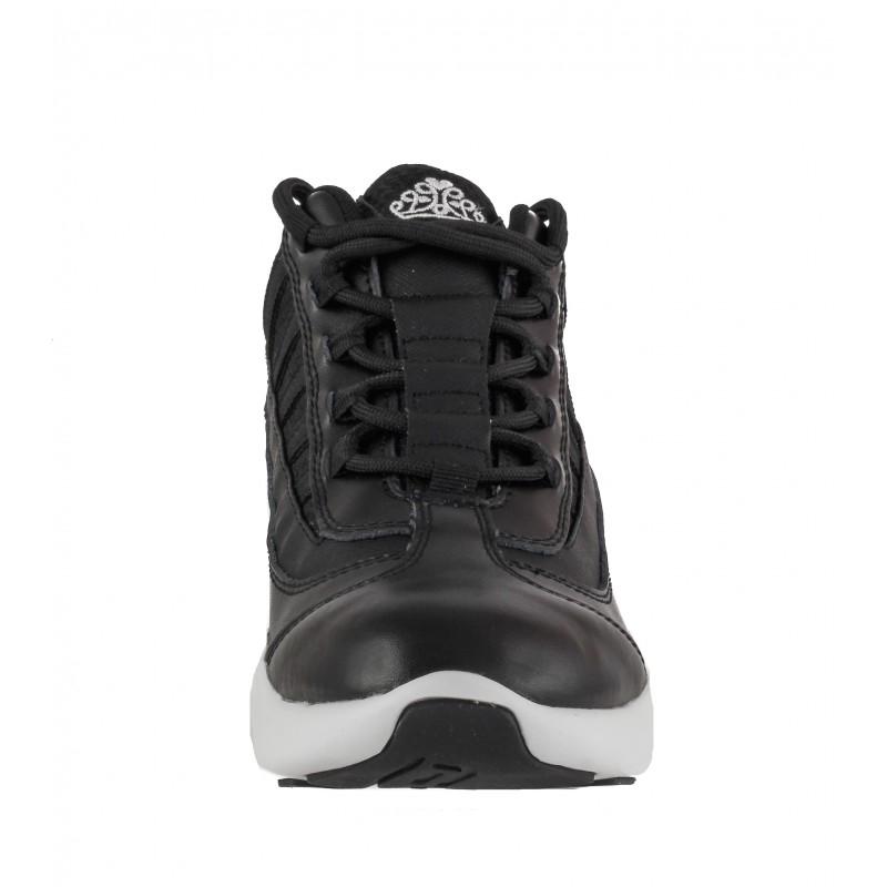 Дамски спортни обувки на платформа Fornarina черни