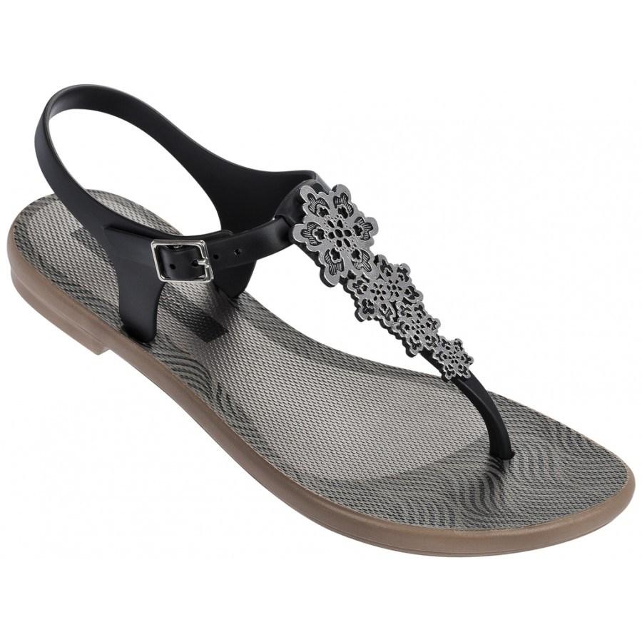 Дамски равни сандали Grendha ROMANTIC FEM черни
