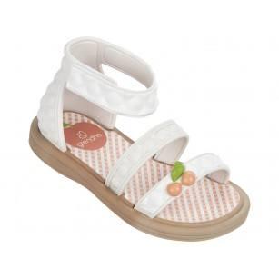 Бебешки сандали за момиче Grendha JEWEL SANDAL KIDS бели