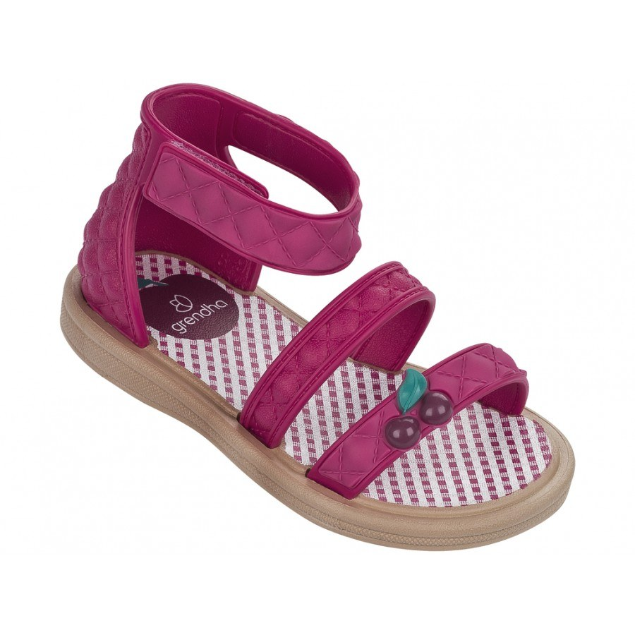 Бебешки сандали за момиче Grendha JEWEL SANDAL KIDS розови