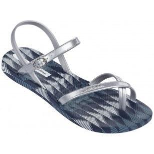 Дамски сандали равни Ipanema FASHION SAND IV FEM сини/сребристи