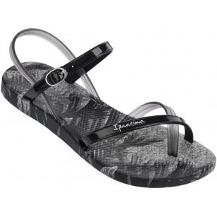 Дамски сандали равни Ipanema FASHION SAND IV FEM черни/сиви