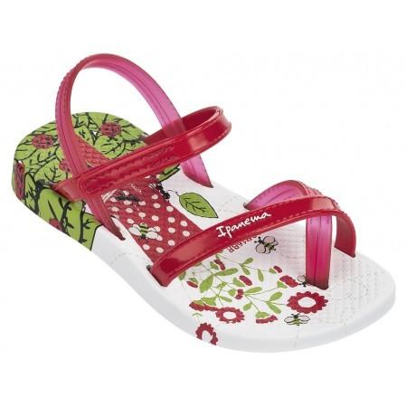Бебешки сандали за момиче Ipanema FASHION V SAND BABY бели/червени