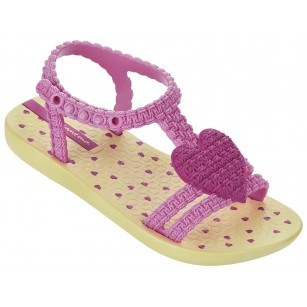 Бебешки сандали за момичеMY FIRST IPANEMA BABY жълти/розови