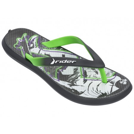 Детски джапанки Rider ENERGY IV KIDS бели/зелени