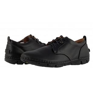 Мъжки ежедневни обувки с връзки Mania черни