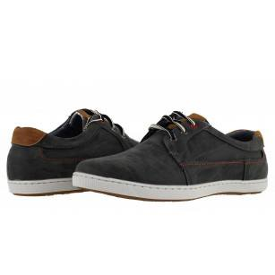 Мъжки спортно-ежедневни обувки Mania сиви
