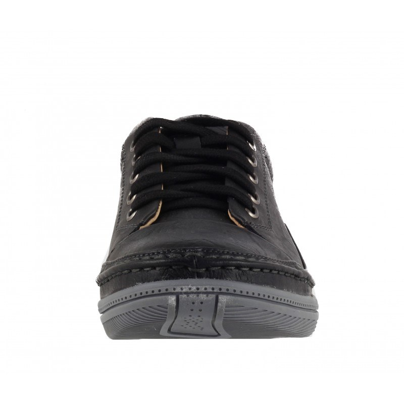 Мъжки обувки от естествена кожа с връзки Mania