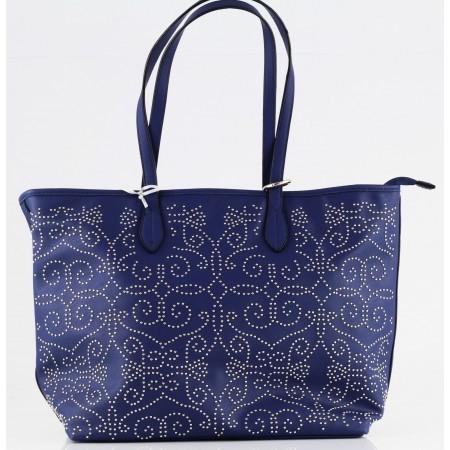 Дамска голяма чанта Marina Galanti® Firenze синя
