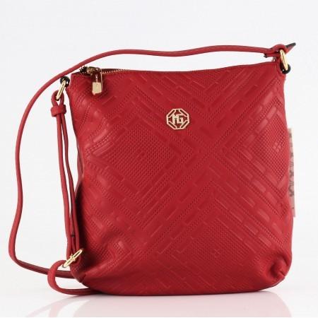 Дамска малка чанта през тяло Marina Galanti® Firenze червена