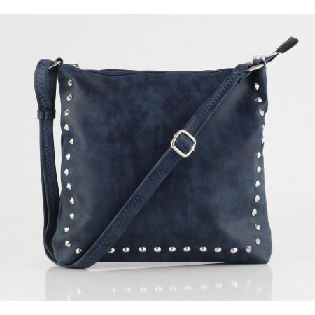 Дамска малка чанта през тяло Marina Galanti® Firenze тъмно синя