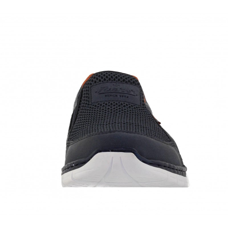 Мъжки спортни обувки без връзки Rieker MemoSoft сини