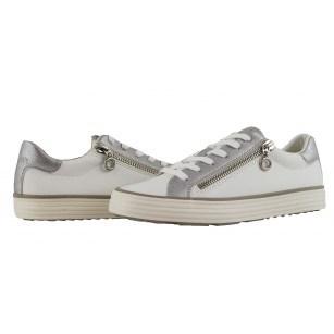 Дамски спортни обувки S.Oliver бели Soft Foam мемори пяна