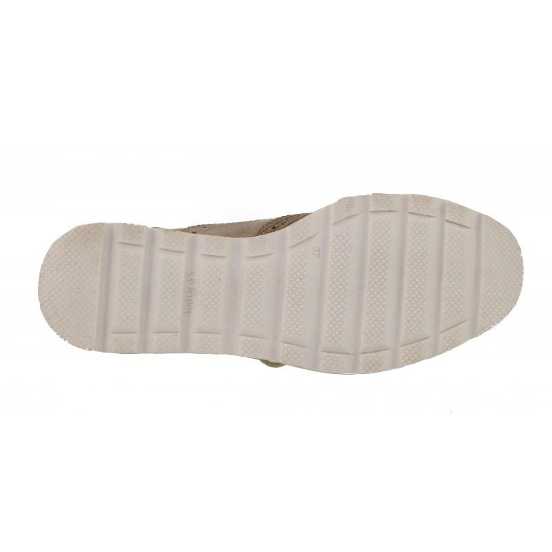Дамски обувки brogue fashion S.Oliver мемори пяна розови/бежови