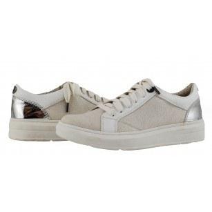 Дамски спортни обувки кецове S.Oliver бели мемори пяна