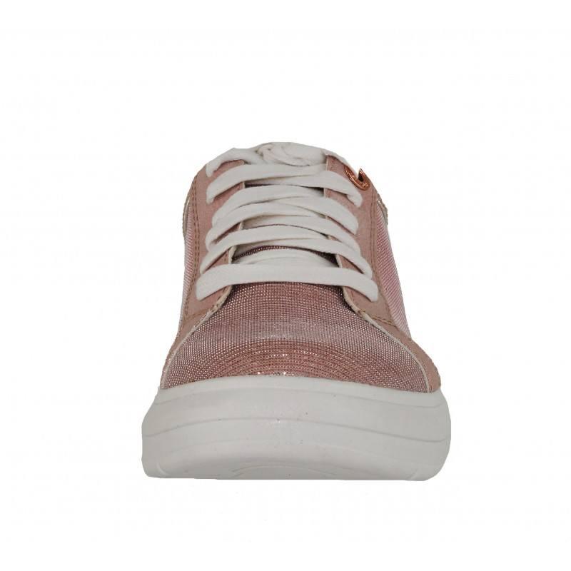 Дамски спортни обувки кецове S.Oliver розови мемори пяна