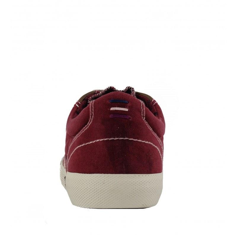 Мъжки спортни обувки с връзки S.Oliver бордо