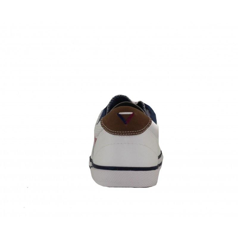 Мъжки спортни обувки с връзки S.Oliver бели