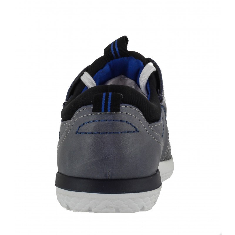 Мъжки спортни обувки S.Oliver сиви естествена кожа