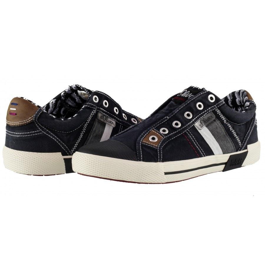 Мъжки спортни обувки S.Oliver без връзки черни