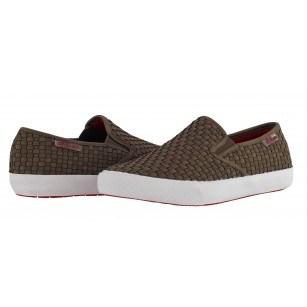Мъжки спортни обувки без връзки S.Oliver  кафяви