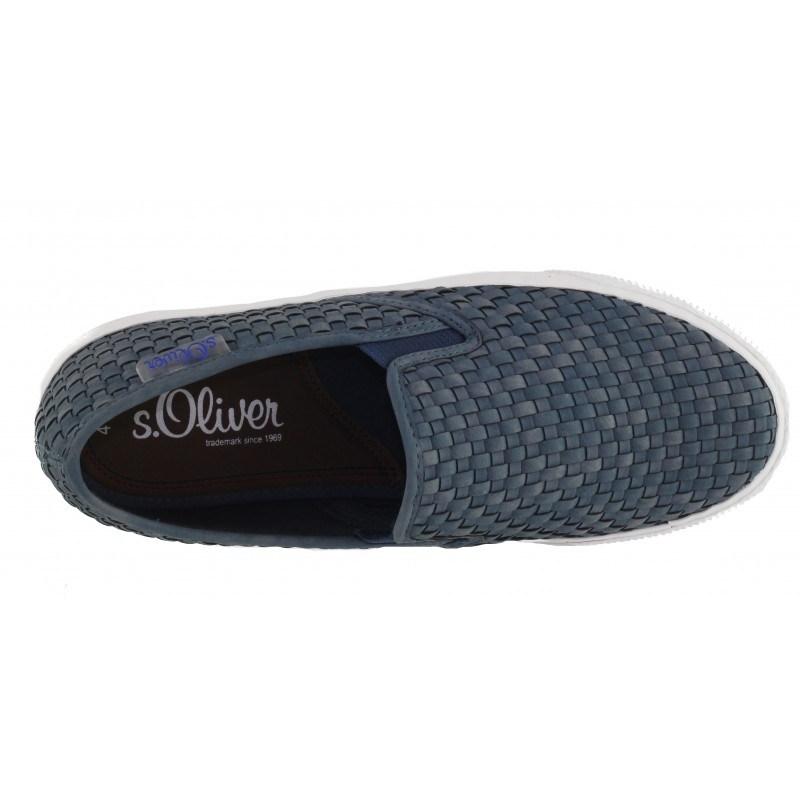 Мъжки спортни обувки без връзки S.Oliver сини