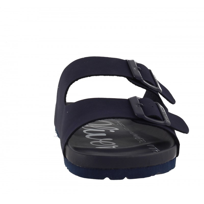 Мъжки ортопедични чехли S.Oliver сини