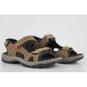 Дамски ортопедични сандали от набук Salamander бежови