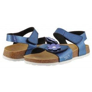 Ортопедични детски сандали за момиче Superfit светло-сини 30/36