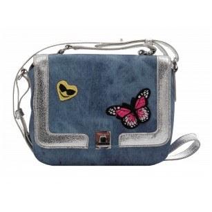 Малка дамска чанта Tamaris деним