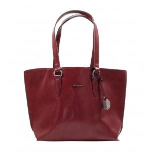 Голяма дамска чанта Tamaris бордо