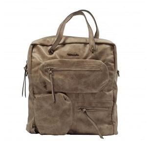 Дамска чанта тип раница Tamaris бежова