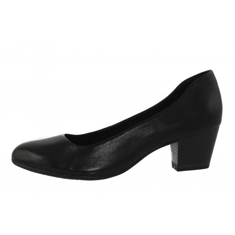 Дамски кожени обувки на ток Tamaris ANTISHOKK® мемори пяна