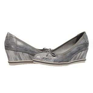 Дамски елегантни обувки на платформа Tamaris сиви