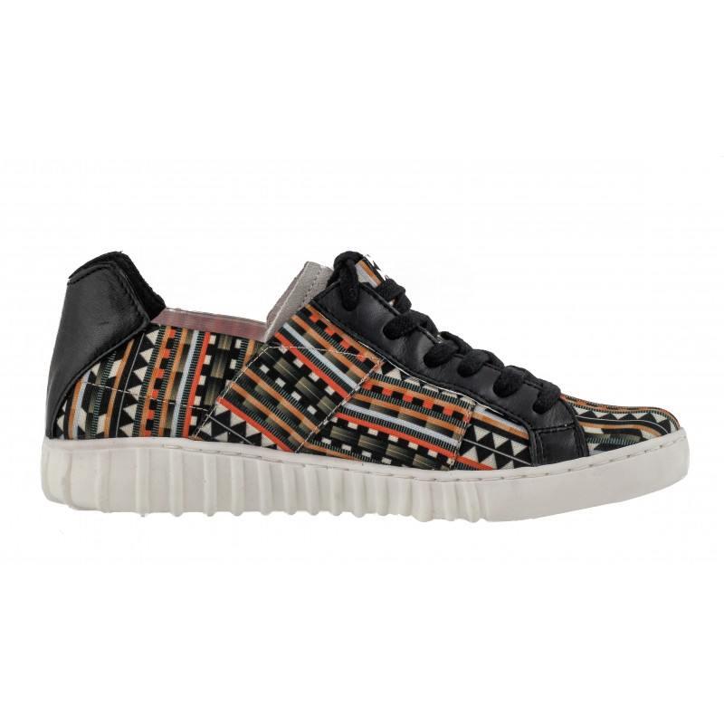 Дамски спортни обувки с връзки Tamaris етно комби YOGA-IT