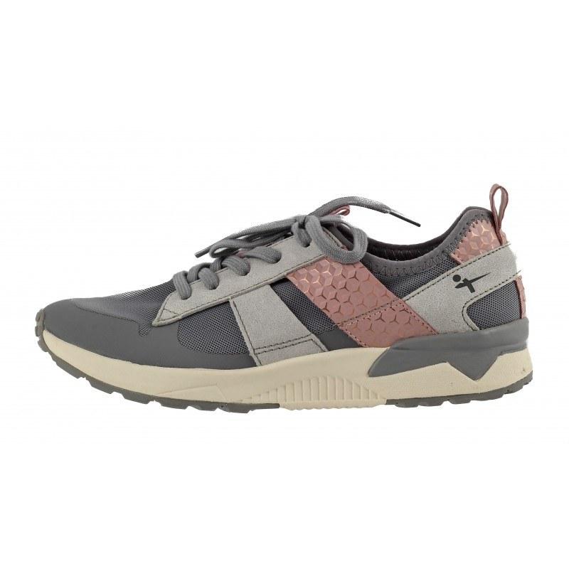 Дамски спортни обувки с връзки Tamaris YOGA-IT сиви комби