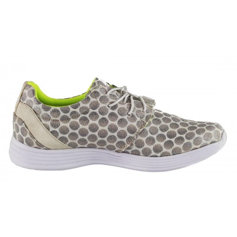 Дамски спортни обувки Tamaris T-Collection YOGA-IT бели/сребристи
