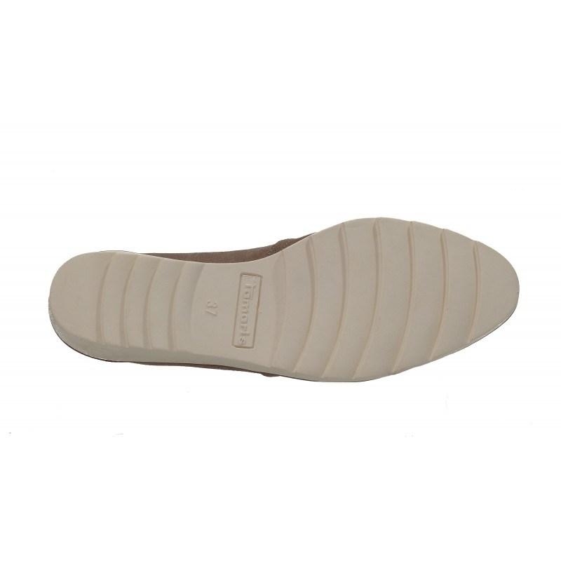 Дамски ежедневни обувки на платформа Tamaris бежови мемори пяна Touch It. Магазин kompass.bg