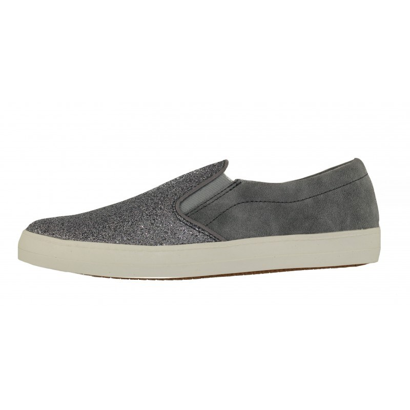 Дамски спортни обувки Tamaris мемори пяна сребристи