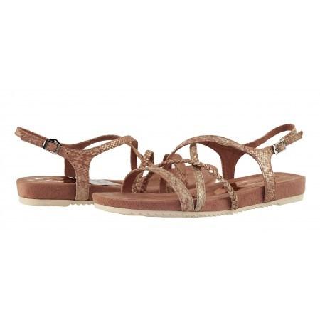 Дамски равни анатомични сандали с мемори пяна Tamaris розови