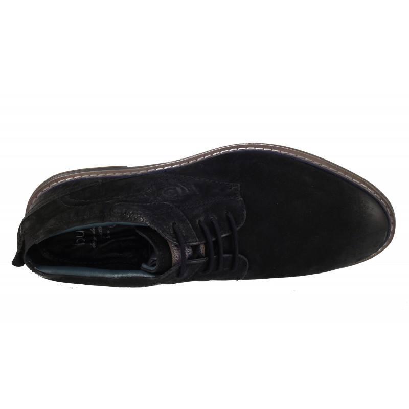 Мъжки полуботи естествена кожа Bugatti® черни